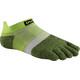 Injinji Run LW No Show Xtralife Socks Chive